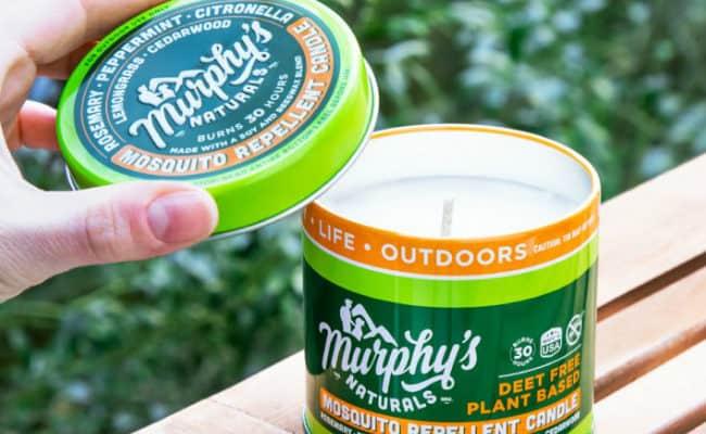 Murphys Naturals Mosquito Repellent Candle
