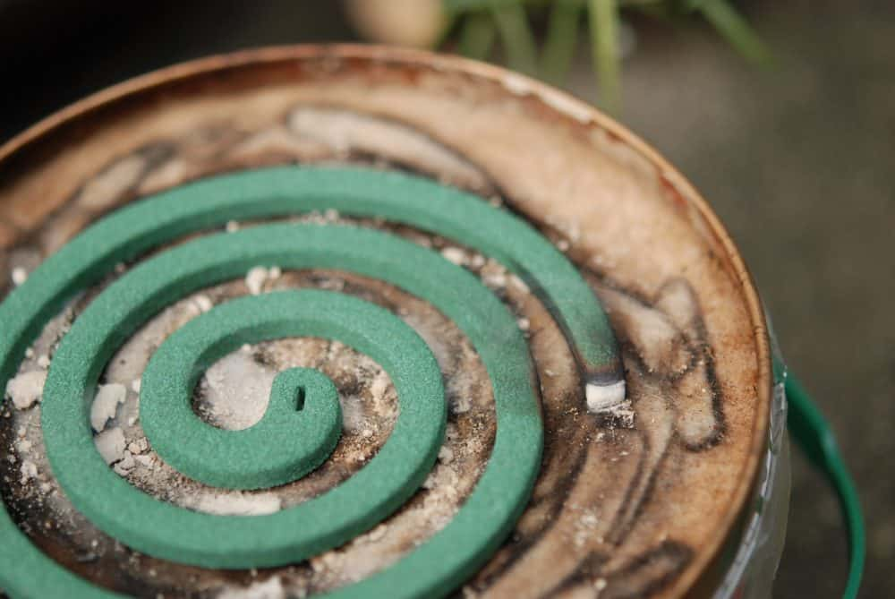One mosquito coil