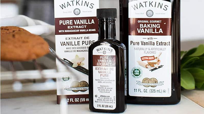 Watkins Baking Vanilla Bottles