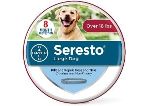 Bayer Animal Health Seresto Flea and Tick Collar for Dogs