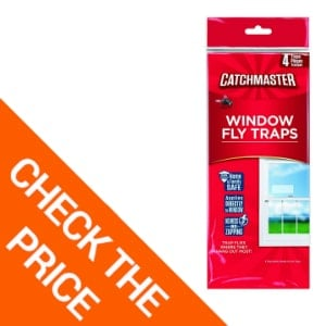 Catchmaster 904 Bug & Fly Clear Window Fly Traps