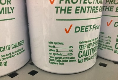 deet-free repellent bottles