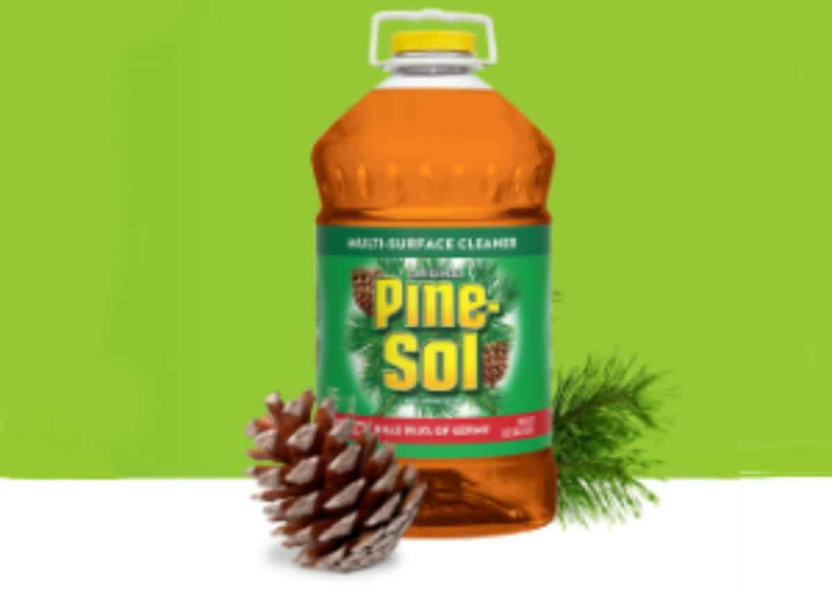 Is Pine Sol A Disinfectant Does It