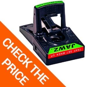 JT Eaton 409BULK Jawz Plastic Mouse Trap, For Solid or Liquid Bait