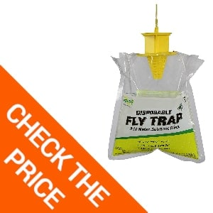 RESCUE Outdoor Non-Toxic Disposable Fly Trap: Best Fly Trap Outdoors