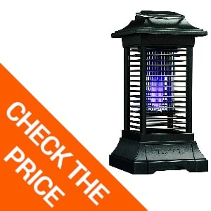 Stinger Cordless Rechargeable Insect Zapper, Black
